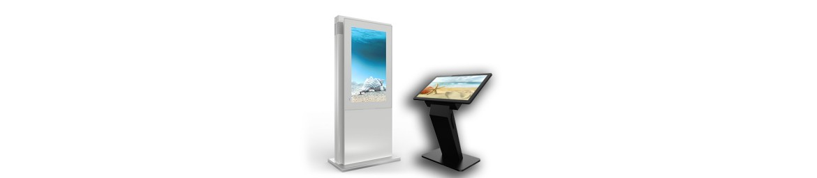 Freestanding Touch Systems & Info Kiosks